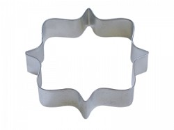 Plaque Square Cookie Cutter  4.25""