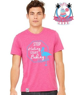 """Stop Hating Start Baking"" T-Shirt"