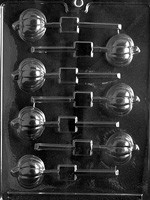 Pumpkin Lolly Chocolate Mold