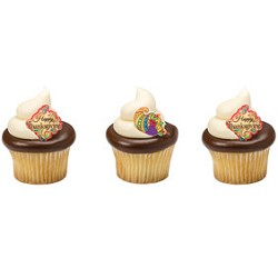 Thanksgiving Sugar Soft Cupcake Toppers 12pc