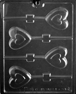 Heart Chocolate Mold 2 3/4""