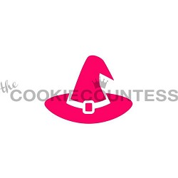 The Cookie Countess Cookie Stencil : Witch Hat